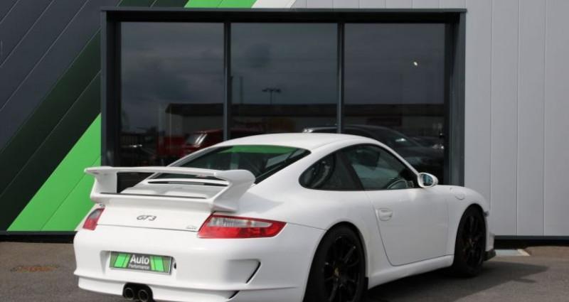 Porsche 911 Type 997 GT3 (997) 3.6 415 Blanc occasion à Jaux - photo n°3