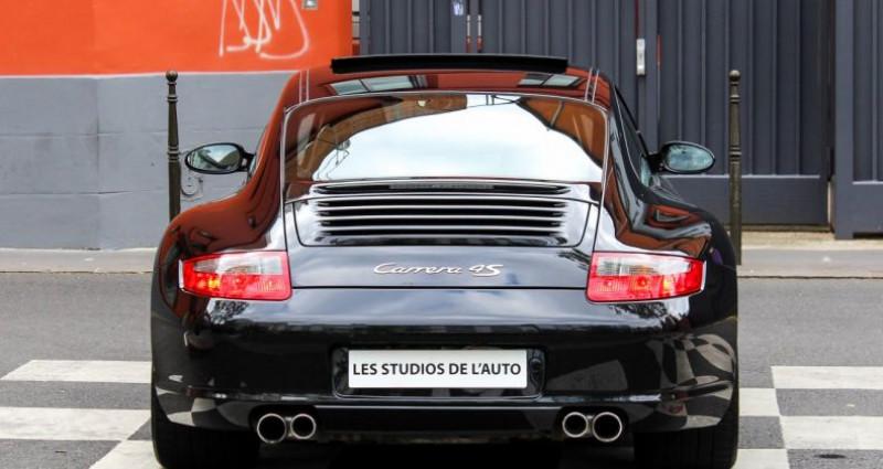 Porsche 911 Type 997 IV (997) Carrera 4S Noir occasion à Boulogne-billancourt - photo n°6