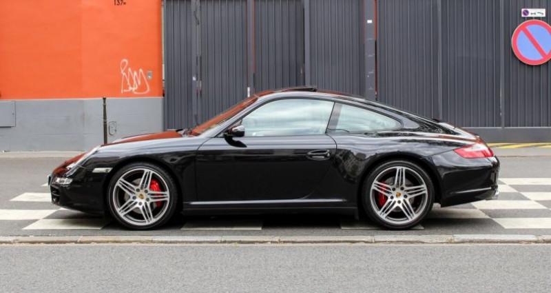 Porsche 911 Type 997 IV (997) Carrera 4S Noir occasion à Boulogne-billancourt - photo n°3