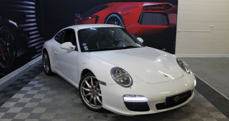 Porsche 911 Type 997 IV (997) Carrera S Blanc occasion à COIGNIERES - photo n°3