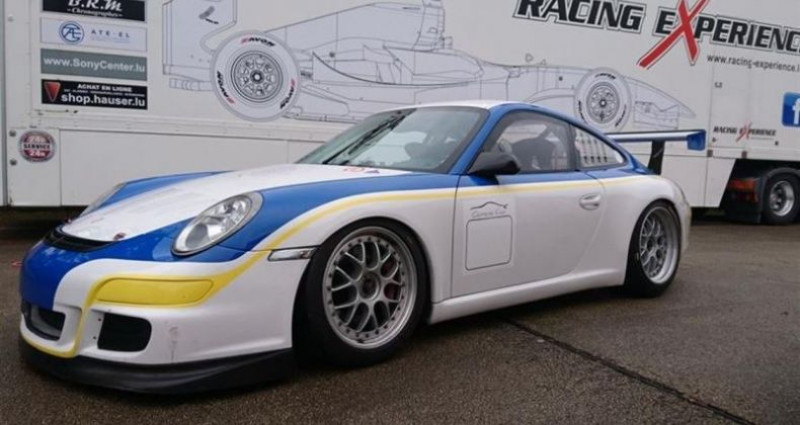 Porsche 911 Type 997 TYPE 997 GT3 CUP Blanc occasion à Paris - photo n°4