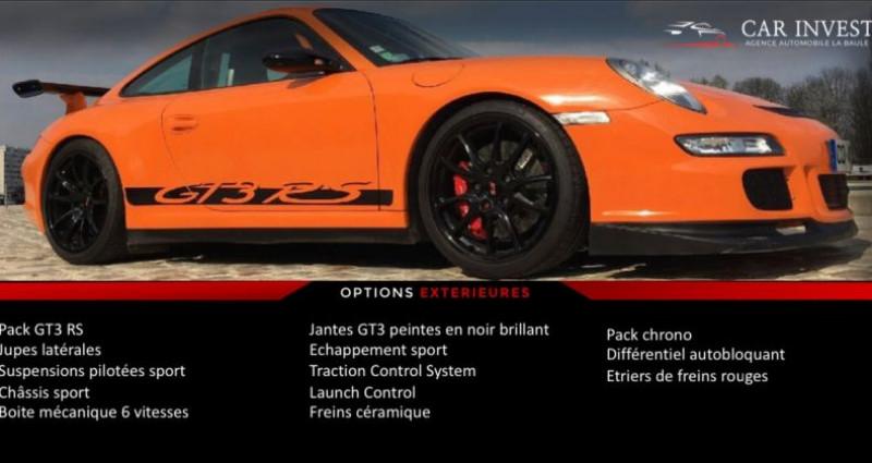 Porsche 911 Type 997 type 997 gt3 rs tat exceptionnel1 Orange occasion à LA BAULE - photo n°7