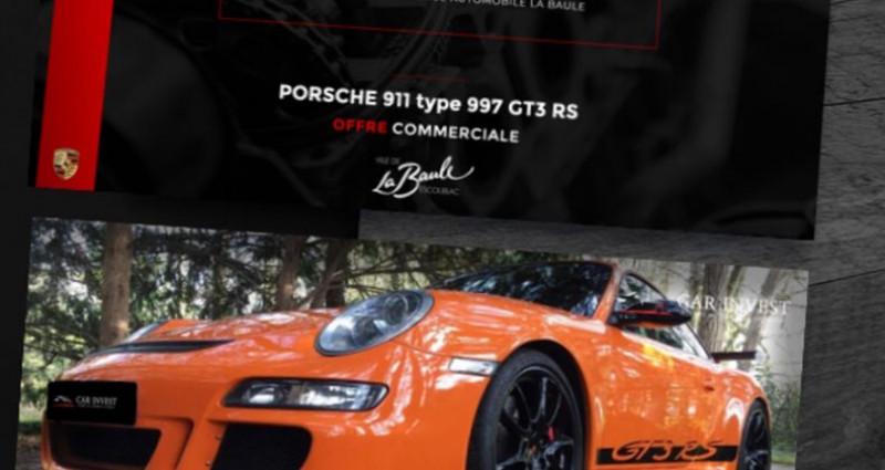 Porsche 911 Type 997 type 997 gt3 rs tat exceptionnel1 Orange occasion à LA BAULE