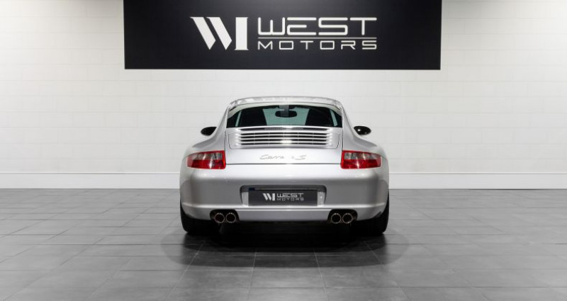 Porsche 911 Type 997 Type 997 Phase 1 Carrera S 3.8 355 Ch Gris occasion à DARDILLY - photo n°5
