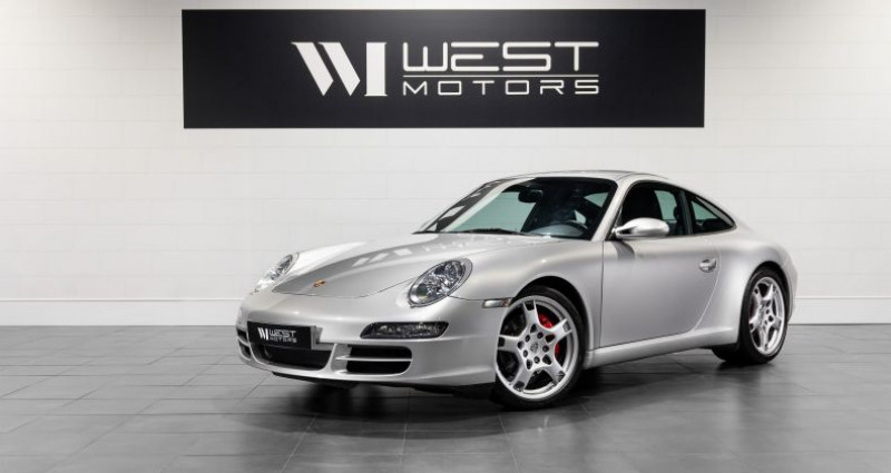Porsche 911 Type 997 Type 997 Phase 1 Carrera S 3.8 355 Ch Gris occasion à DARDILLY