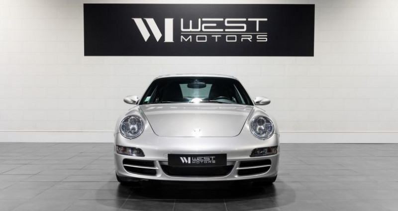 Porsche 911 Type 997 Type 997 Phase 1 Carrera S 3.8 355 Ch Gris occasion à DARDILLY - photo n°2