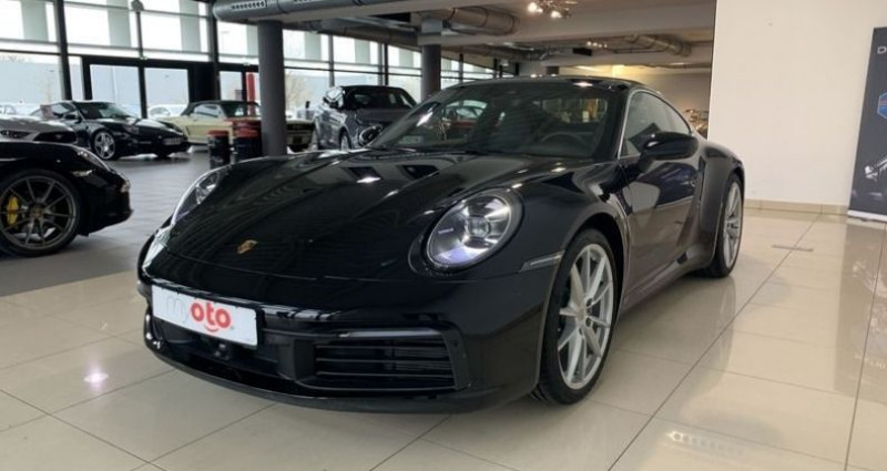Porsche 911 (992) 3.0 385CH Noir occasion à Mommenheim - photo n°5