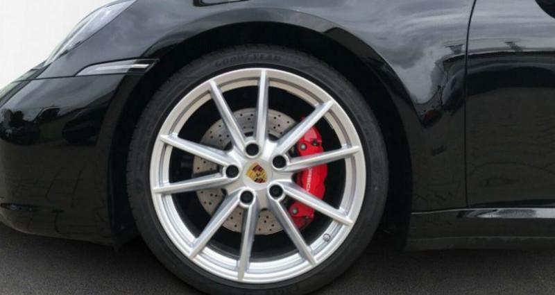 Porsche 911 (992) COUPE 3.0 450 CARRERA  PDK8 04/2019 Noir occasion à Saint Patrice - photo n°3