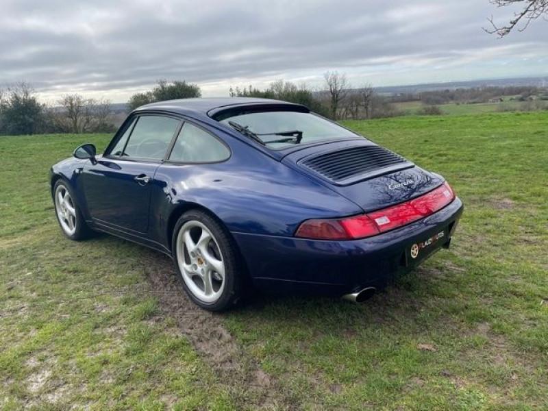 Porsche 911 (993) 3.6 CARRERA Bleu occasion à Vacquiers - photo n°5