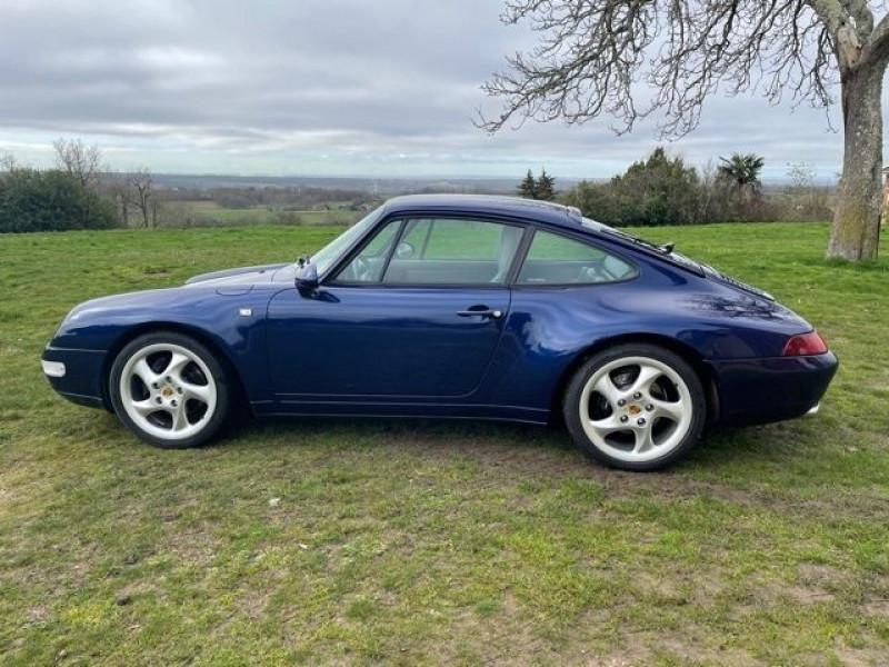 Porsche 911 (993) 3.6 CARRERA Bleu occasion à Vacquiers - photo n°4