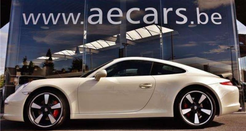 Porsche 911 - 50 JAHRE JUBILÄUMSMODELL - COLLECTORS ITEM - Blanc occasion à IZEGEM - photo n°3