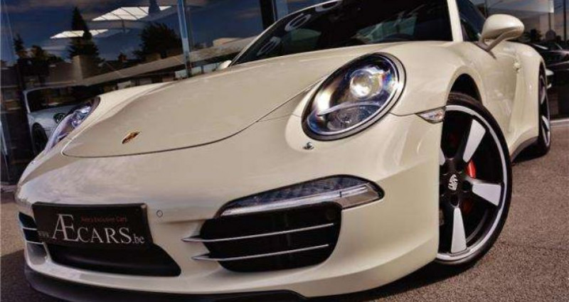 Porsche 911 - 50 JAHRE JUBILÄUMSMODELL - COLLECTORS ITEM - Blanc occasion à IZEGEM