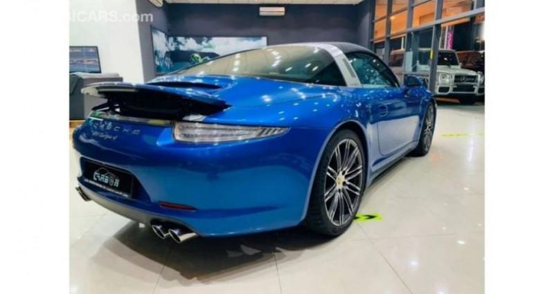 Porsche 911 # 911 CARRERA TARGA 4 # Bleu occasion à Mudaison - photo n°6