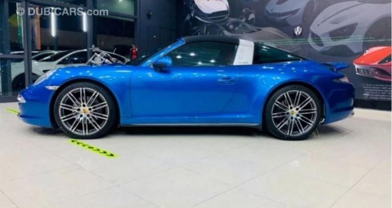 Porsche 911 # 911 CARRERA TARGA 4 # Bleu occasion à Mudaison - photo n°5