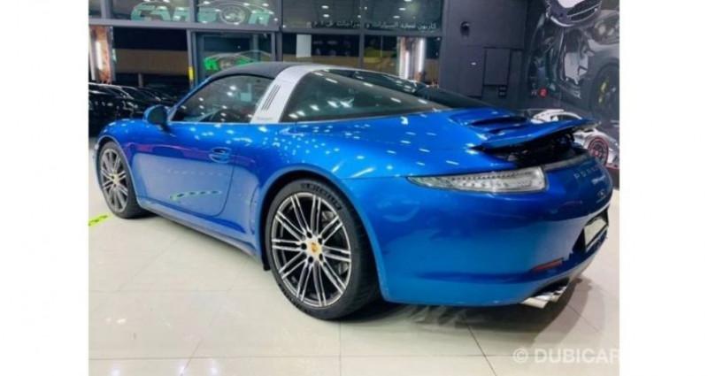 Porsche 911 # 911 CARRERA TARGA 4 # Bleu occasion à Mudaison - photo n°7