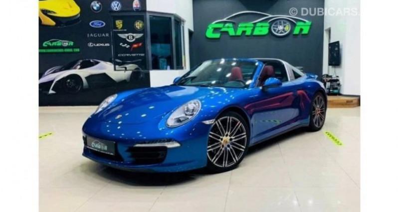 Porsche 911 # 911 CARRERA TARGA 4 # Bleu occasion à Mudaison - photo n°2