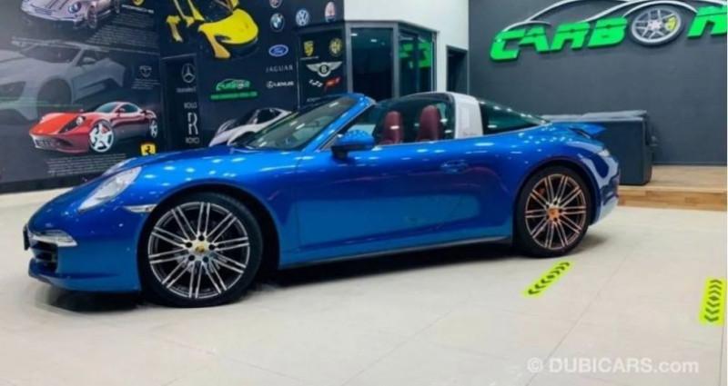 Porsche 911 # 911 CARRERA TARGA 4 # Bleu occasion à Mudaison - photo n°4