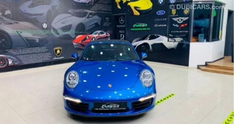Porsche 911 # 911 CARRERA TARGA 4 # Bleu occasion à Mudaison - photo n°3