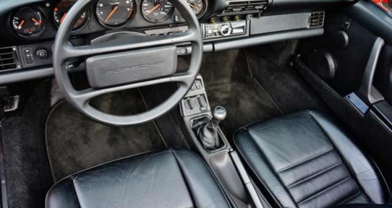 Porsche 911 - CARRERA 4 - CABRIO - FULL HISTORY - EUROPEAN - Rouge occasion à IZEGEM - photo n°7