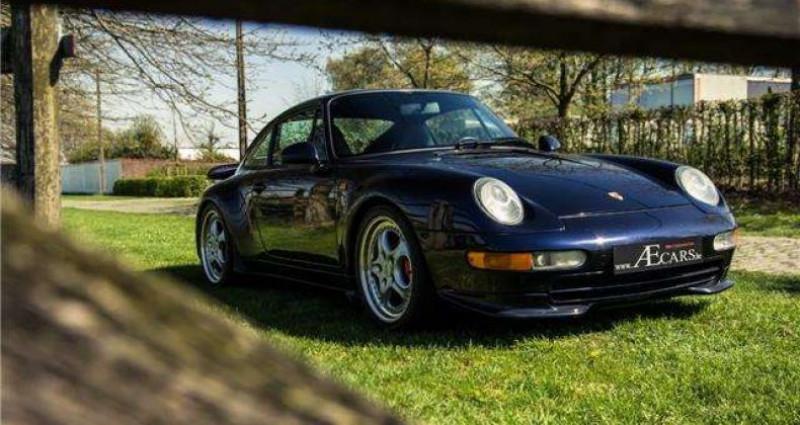 Porsche 911 - RS - 3.8 - 300PK - 97.440 KM - FULL HISTORY - Bleu occasion à IZEGEM