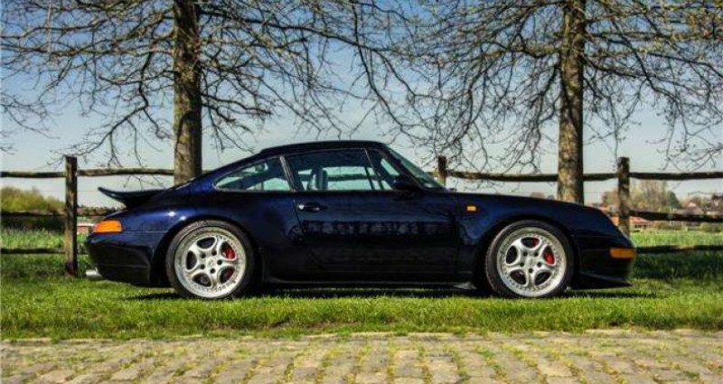 Porsche 911 - RS - 3.8 - 300PK - 97.440 KM - FULL HISTORY - Bleu occasion à IZEGEM - photo n°2