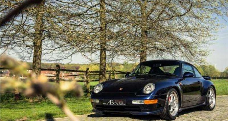Porsche 911 - RS - 3.8 - 300PK - 97.440 KM - FULL HISTORY - Bleu occasion à IZEGEM - photo n°4