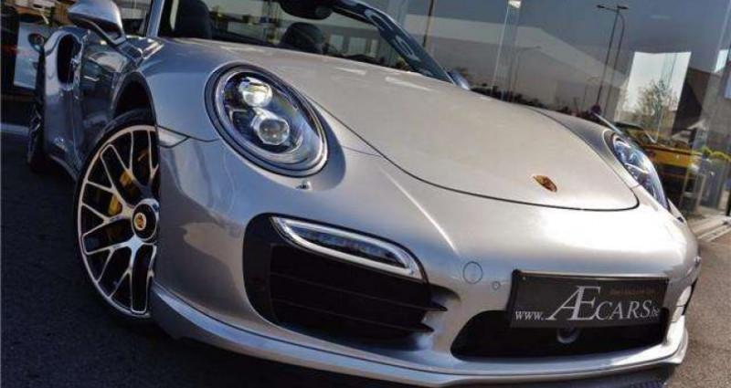 Porsche 911 - TURBO S - CABRIO - PDK - CARBON - BOSE - CERAMIC - Gris occasion à IZEGEM - photo n°2
