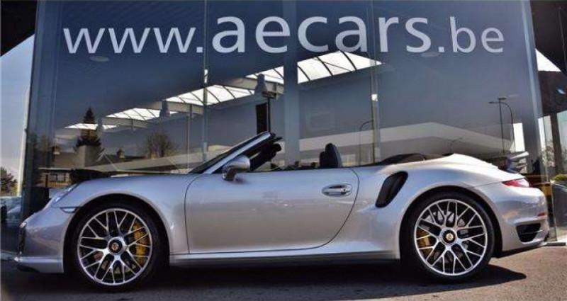 Porsche 911 - TURBO S - CABRIO - PDK - CARBON - BOSE - CERAMIC - Gris occasion à IZEGEM - photo n°3
