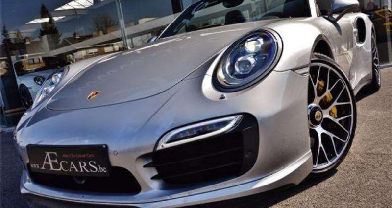Porsche 911 - TURBO S - CABRIO - PDK - CARBON - BOSE - CERAMIC - Gris occasion à IZEGEM