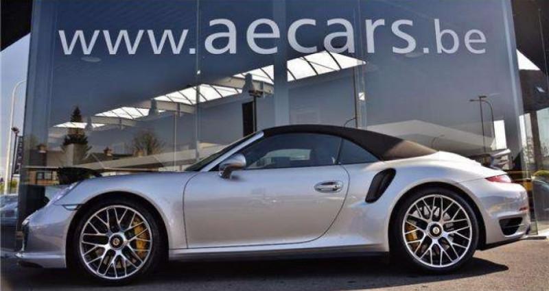 Porsche 911 - TURBO S - CABRIO - PDK - CARBON - BOSE - CERAMIC - Gris occasion à IZEGEM - photo n°4