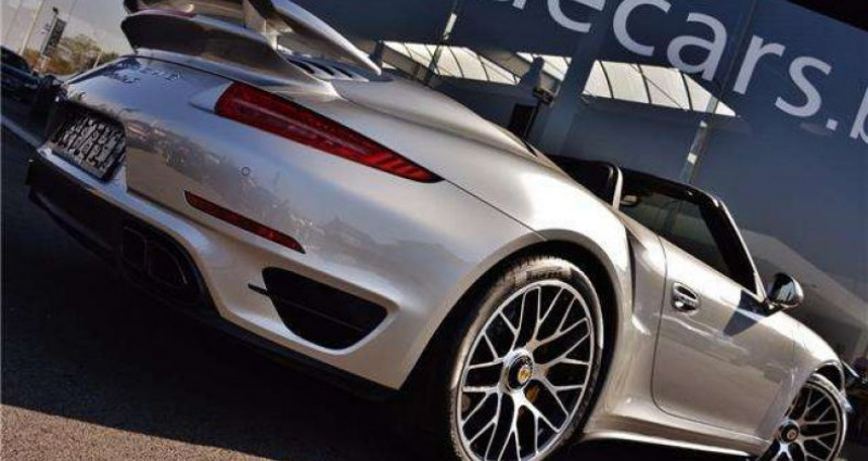 Porsche 911 - TURBO S - CABRIO - PDK - CARBON - BOSE - CERAMIC - Gris occasion à IZEGEM - photo n°5