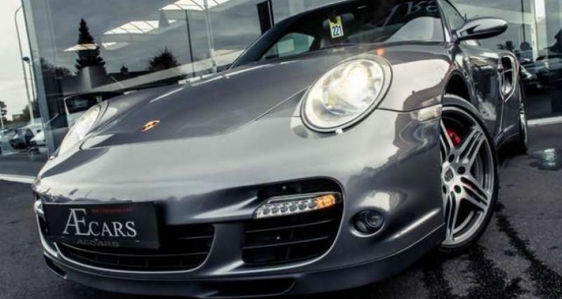 Porsche 911 - - TURBO - TIPTRONIC S - XENON - LEATHER - BOSE - - Gris occasion à IZEGEM