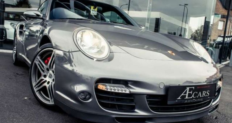 Porsche 911 - - TURBO - TIPTRONIC S - XENON - LEATHER - BOSE - - Gris occasion à IZEGEM - photo n°2