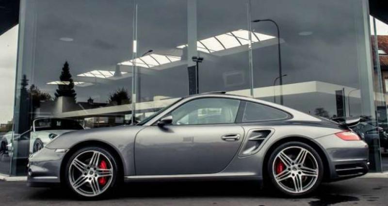 Porsche 911 - - TURBO - TIPTRONIC S - XENON - LEATHER - BOSE - - Gris occasion à IZEGEM - photo n°3