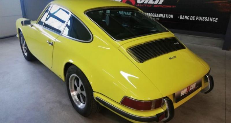 Porsche 911 2.4 T Jaune occasion à Saint-barthélemy-d'anjou - photo n°3