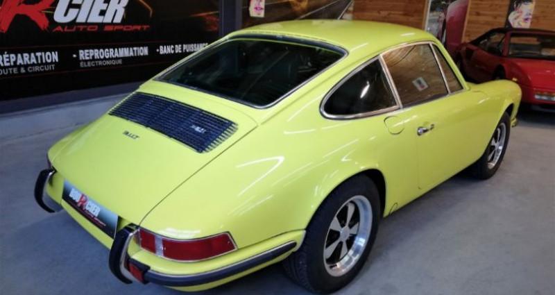 Porsche 911 2.4 T Jaune occasion à Saint-barthélemy-d'anjou - photo n°4
