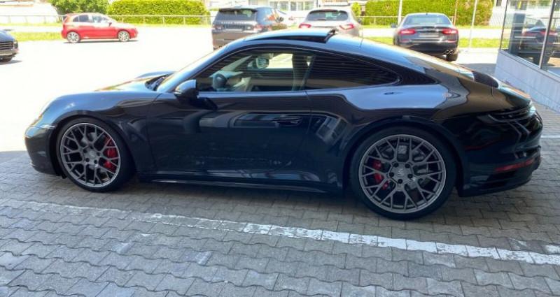 Porsche 911 3.0 450ch 4S PDK Noir occasion à Boulogne-Billancourt - photo n°6