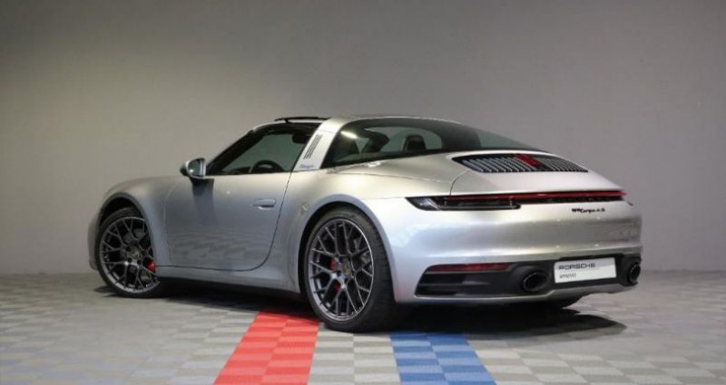 Porsche 911 3.0 450ch 4S Argent occasion à SAINT ETIENNE - photo n°3