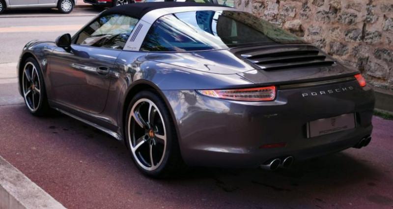 Porsche 911 3.4 TARGA 4 PDK Gris occasion à Saint-maur-des-fossés - photo n°5