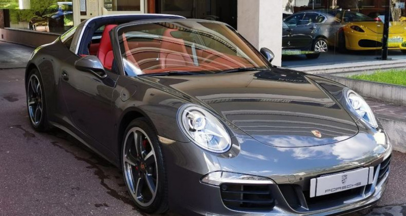 Porsche 911 3.4 TARGA 4 PDK Gris occasion à Saint-maur-des-fossés - photo n°3