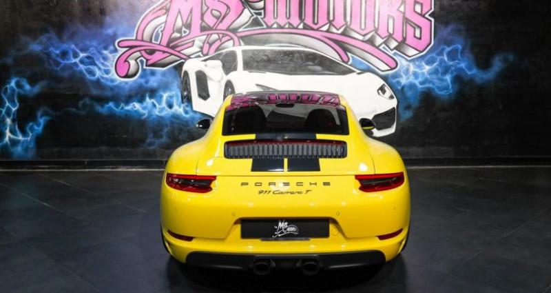 Porsche 911 370 CARRERA T Jaune occasion à CANNES - photo n°4