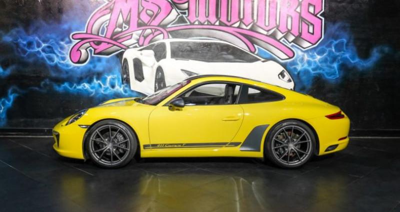 Porsche 911 370 CARRERA T Jaune occasion à CANNES - photo n°3