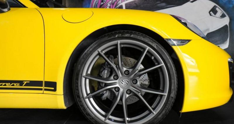 Porsche 911 370 CARRERA T Jaune occasion à CANNES - photo n°6