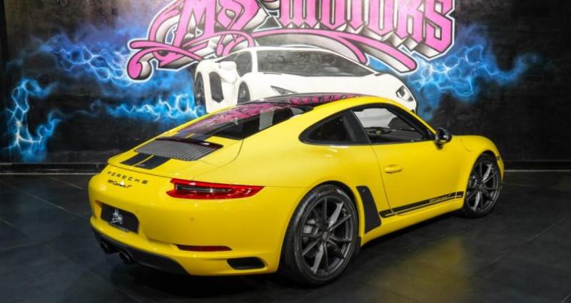 Porsche 911 370 CARRERA T Jaune occasion à CANNES - photo n°5