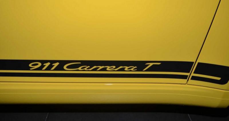 Porsche 911 370 CARRERA T Jaune occasion à CANNES - photo n°7
