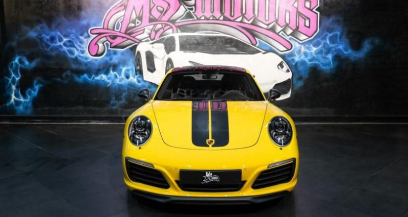 Porsche 911 370 CARRERA T Jaune occasion à CANNES - photo n°2