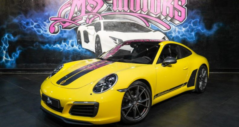 Porsche 911 370 CARRERA T Jaune occasion à CANNES