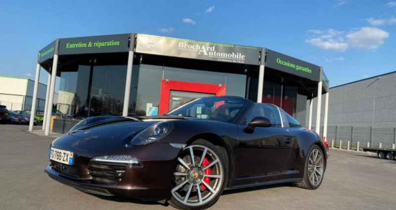 Porsche 911 4S 3.8I 400CV PDK Marron occasion à Saint Amand Les Eaux