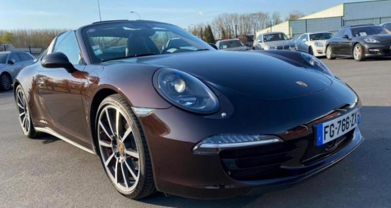 Porsche 911 4S 3.8I 400CV PDK Marron occasion à Saint Amand Les Eaux - photo n°6