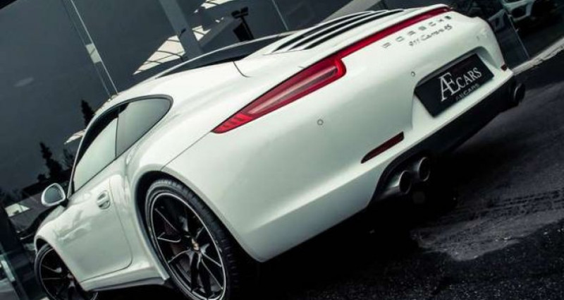 Porsche 911 4S - MANUAL GEARBOX - SPORT EXHAUST Blanc occasion à IZEGEM - photo n°5